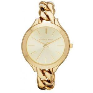 Michael Kors Slim Runway Chain Watch
